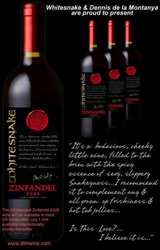 Whitesnake wine