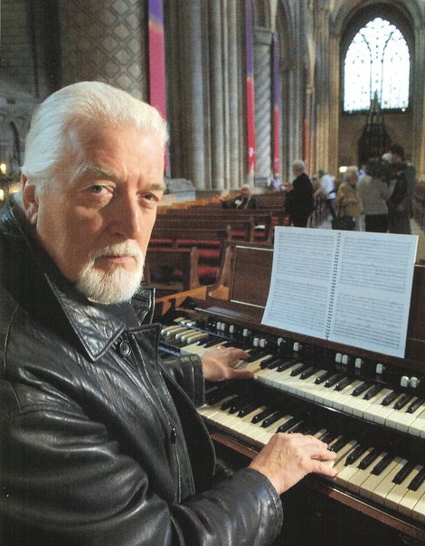 Jon lord at durham cathedral