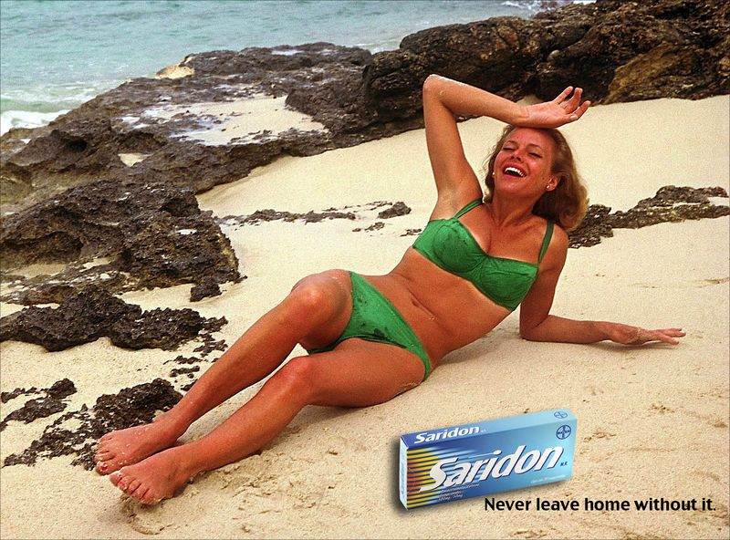 SARIDON AD Honor Blackman50