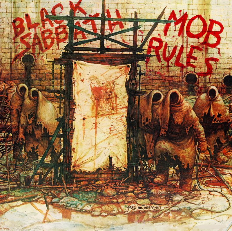 MOB RULES echt