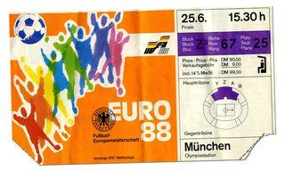 Euro 88 ticket