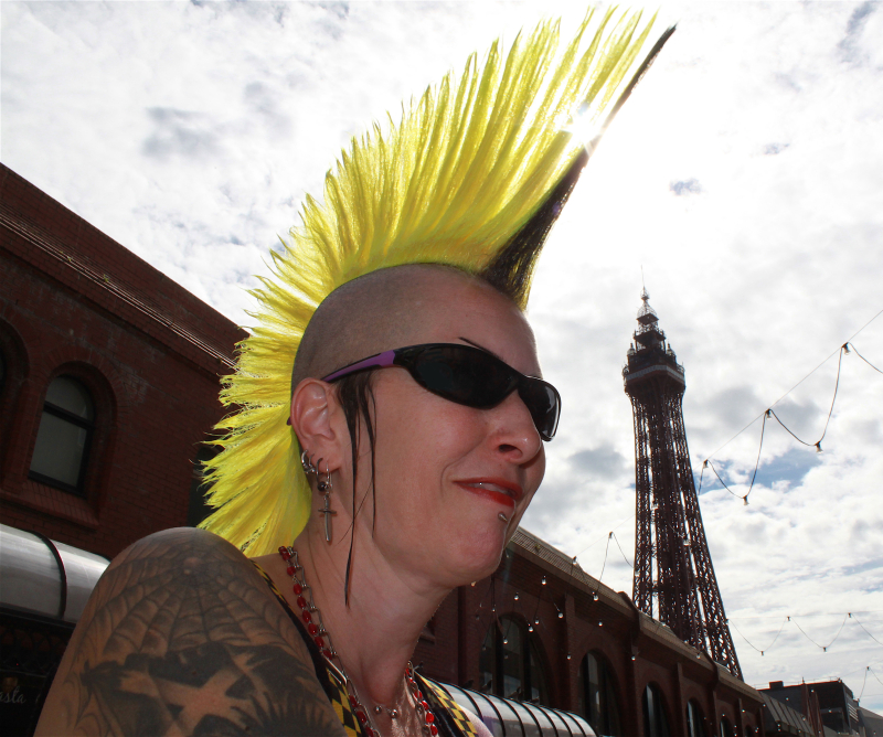 Blackpool tower mohican