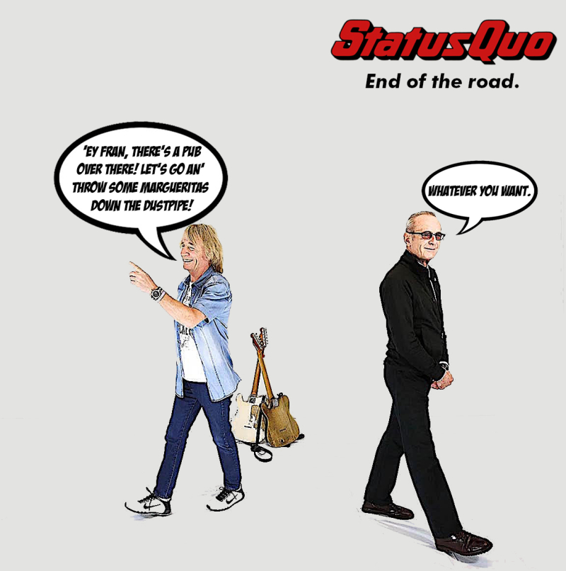 Status quo end of the road5