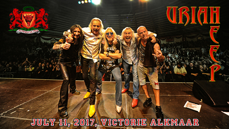 URIAH HEEP NEW TOUR POSTER