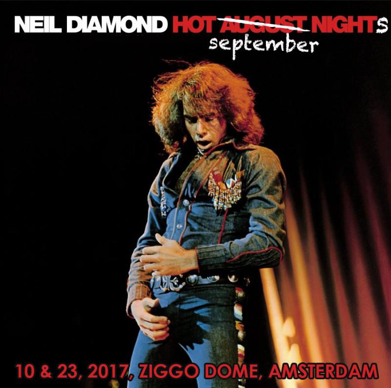 Neil diamond tour poster