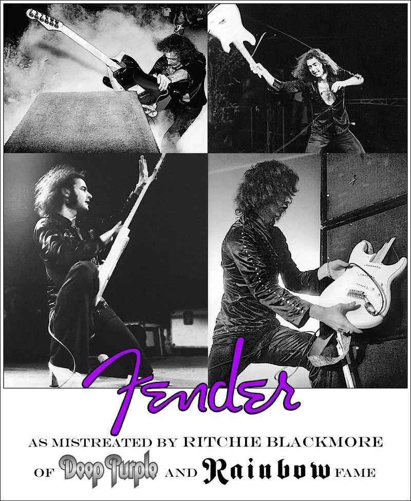 Blackmore fender copy