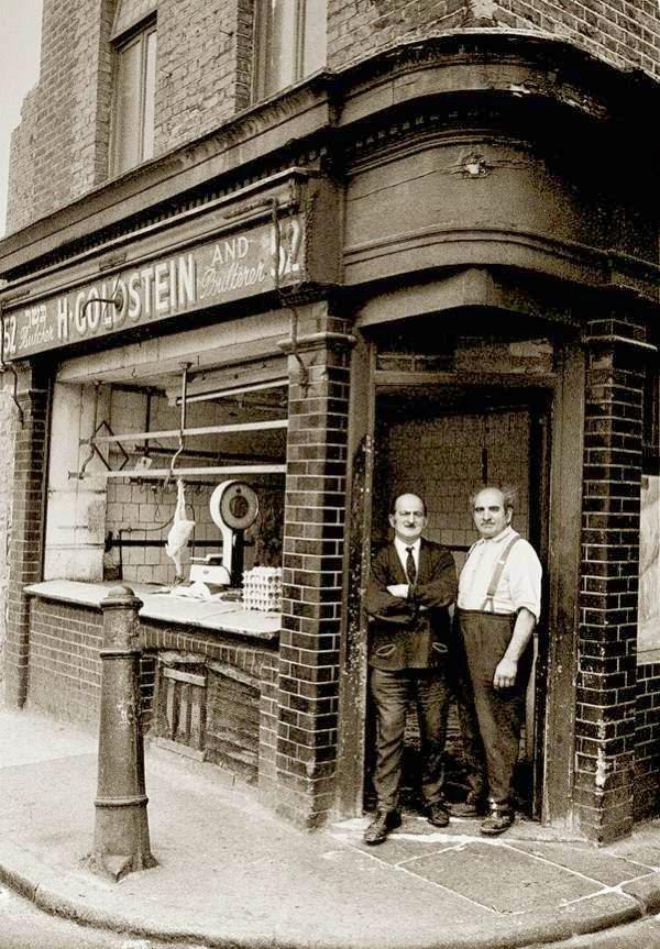 Joodse poelier in east end  jaren 60