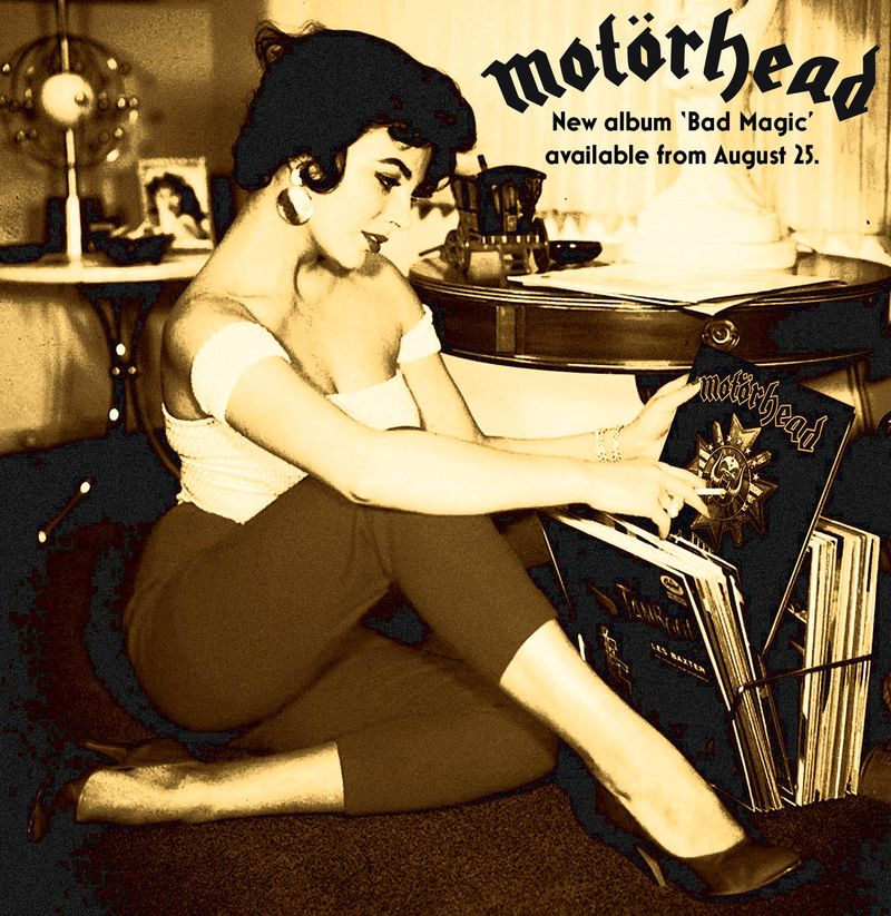 MOTORHEAD AD NEW ALBUM latest