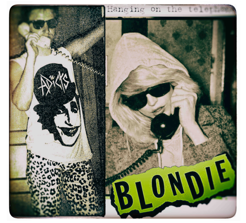 Blondie telephone small