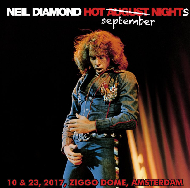 Neil diamond tour poster2