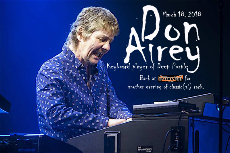 DON AIREY POSTER 2018