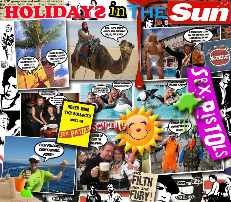 HOLIDAYS IN THE SUN SEX PISTOLS POSTER3