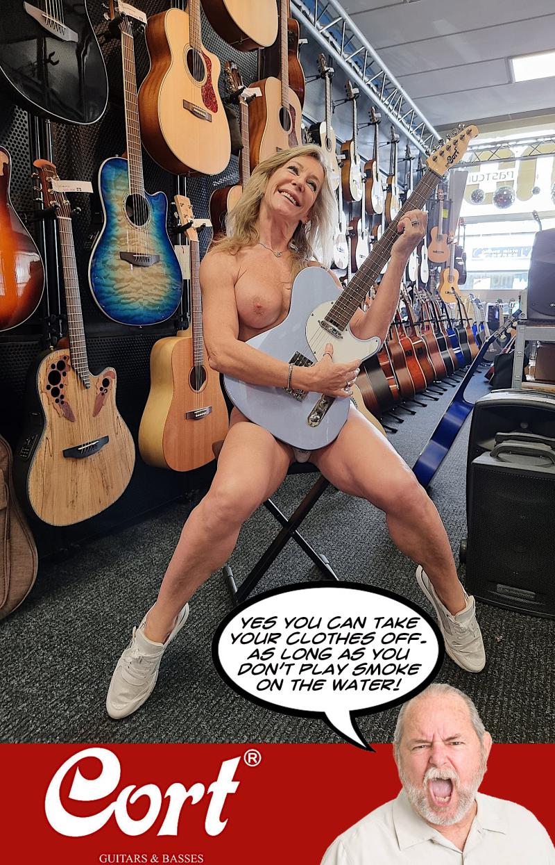 Cort  guitars ad