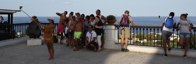 Stromboli selfies2